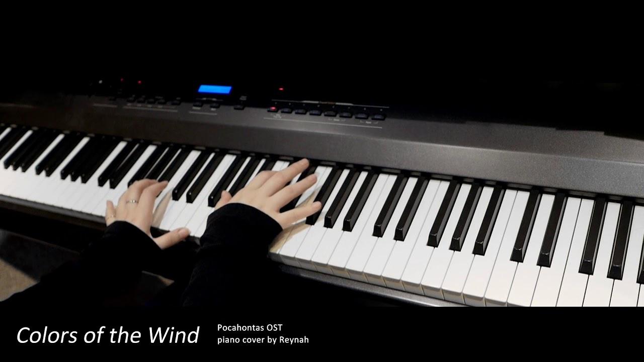 """포카혼타스 Pocahontas OST : """"Colors of the Wind"""" Piano cover ..."""