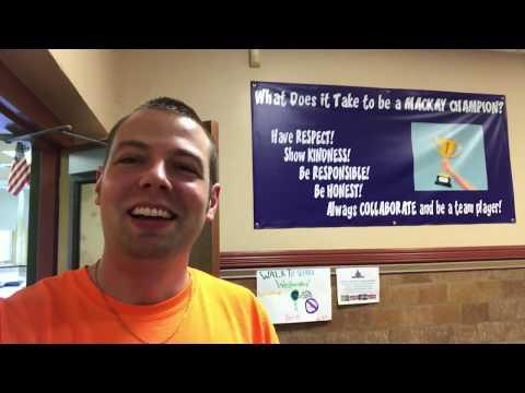 Mr. Peace Visits Mackay Elementary School in Tenafly, New Jersey