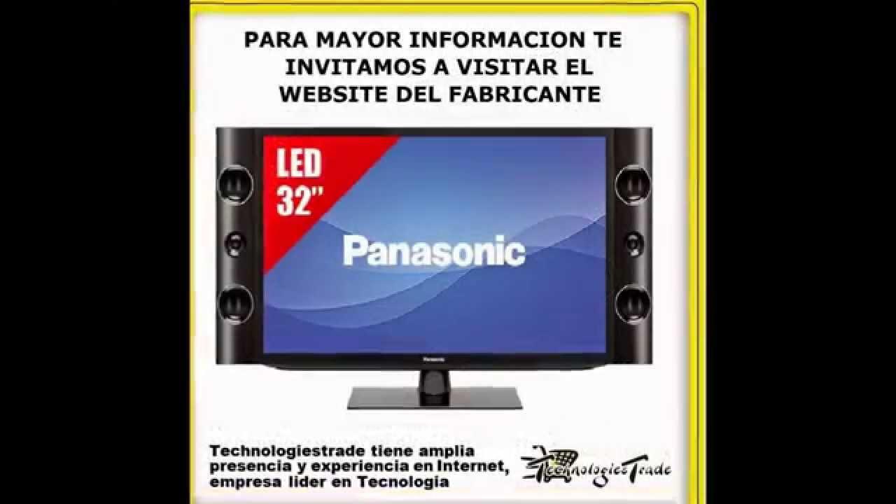 Televisor led panasonic alta definici n altavoces for Televisor 15 pulgadas