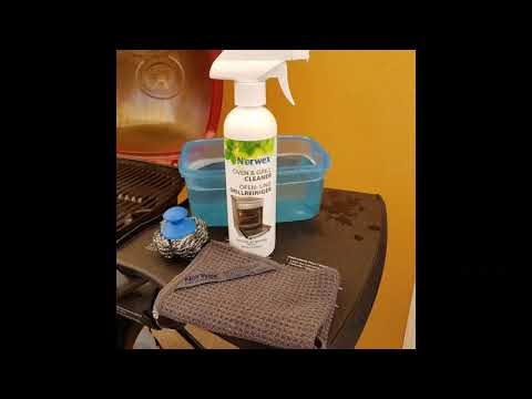 Norwex Oven & Grill Cleaner Demo