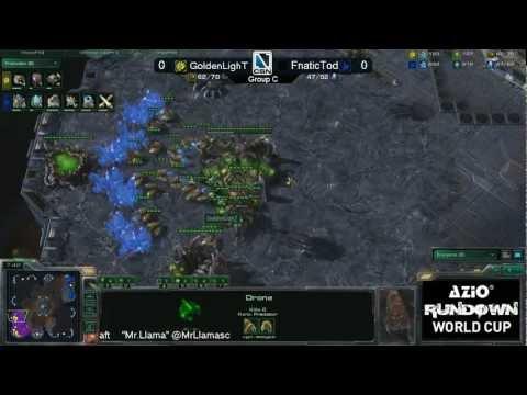 GoldenLighT vs. FnaticToD Game 1