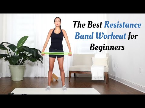 Resistance Band Workout for Beginners [A 10 Minute Workout with Marin]