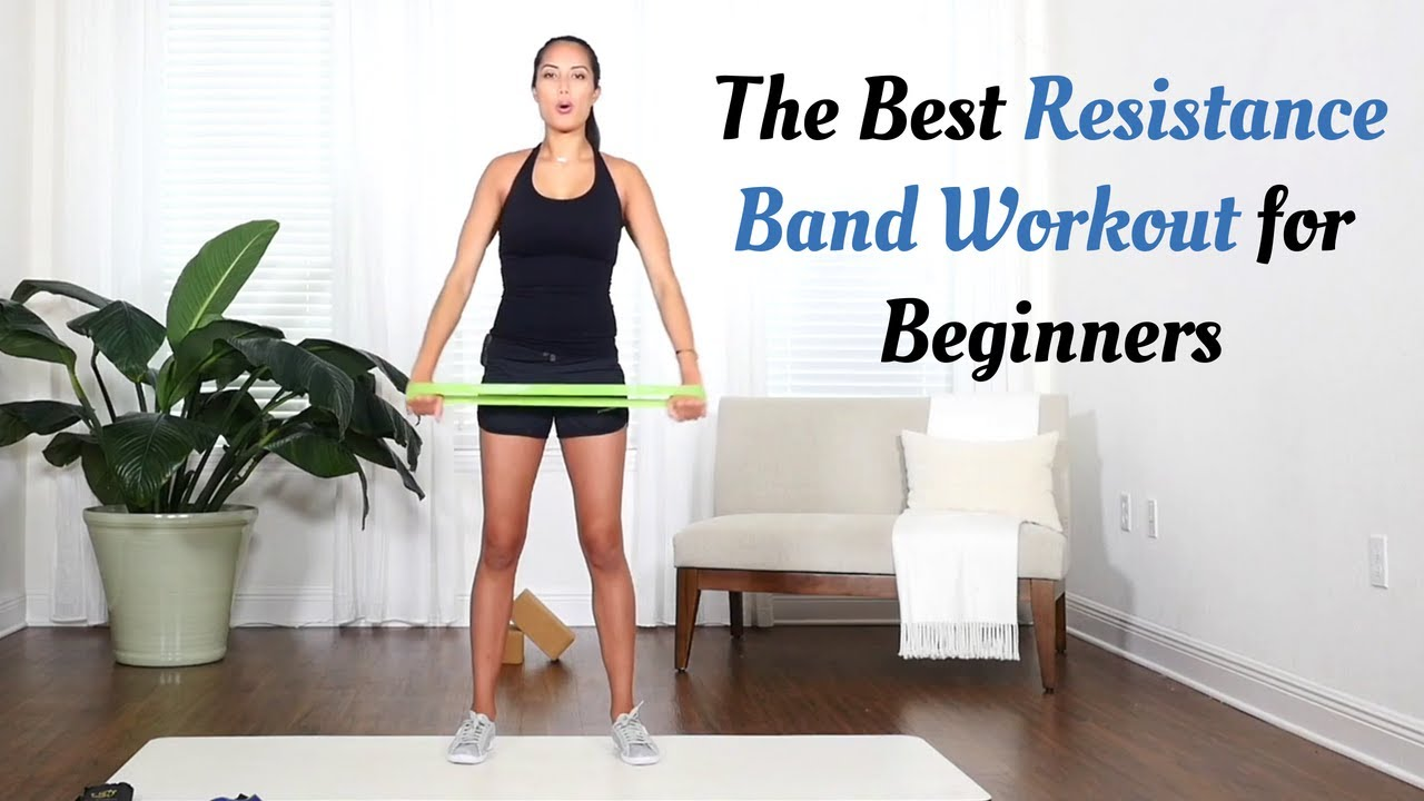 Resistance Band Workout For Beginners A 10 Minute Workout With