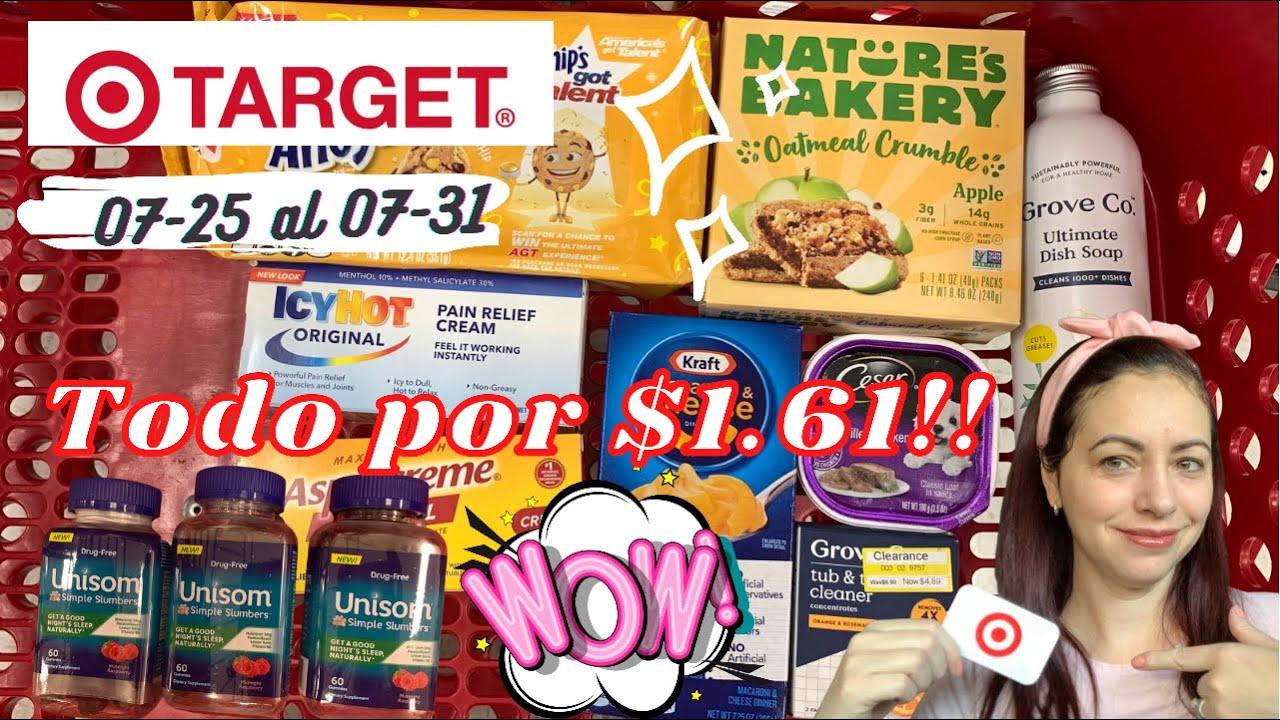 🤩 Toda mi compra por menos de $2 🥰 Target 🔥