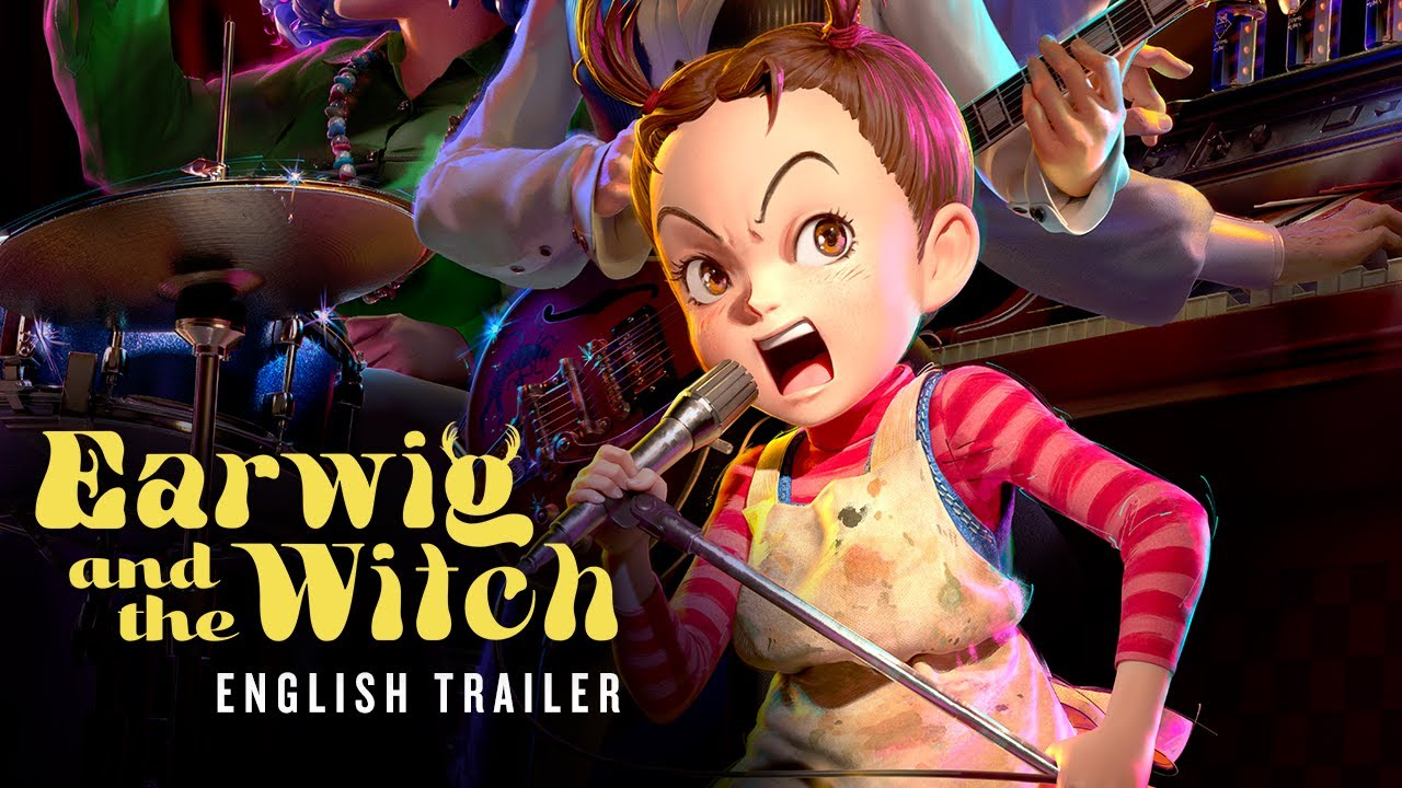Earwig and the Witch [Official English Trailer, GKIDS]