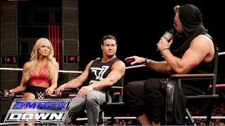 """Miz TV"" welcomes Dolph Ziggler, Summer Rae and Tyler Breeze: SmackDown, October 22, 2015"