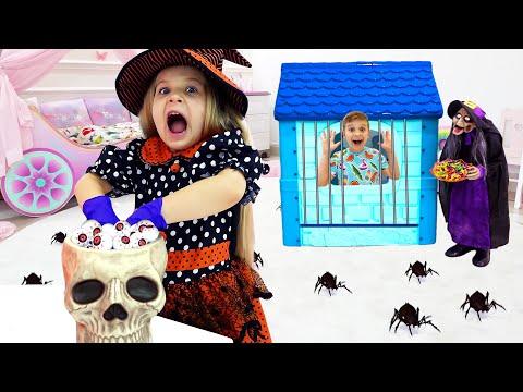 gửi hàng đi mỹ - Diana và Roma Những câu chuyện cho Halloween