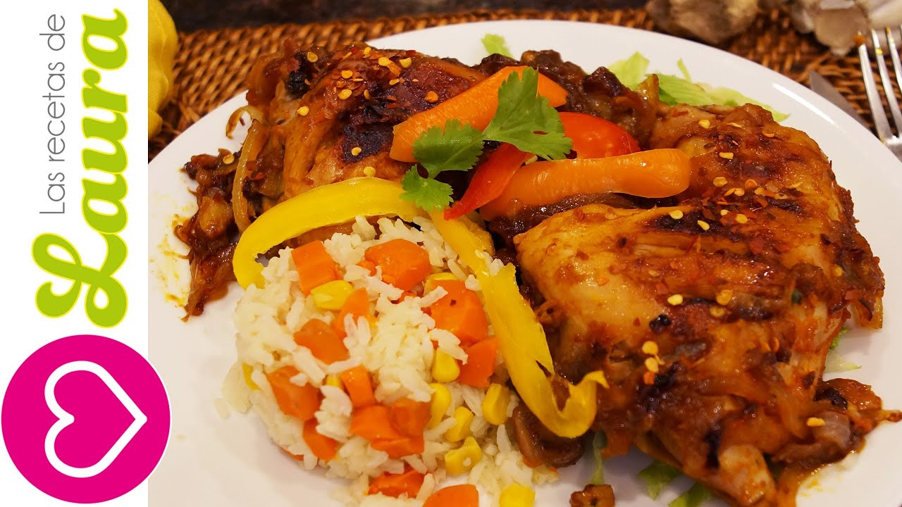 Pollo en salsa barbecue f cil bbq chicken recipe - Resetas de comida de pollo ...