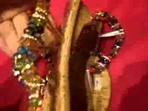 SANDALIAS (o huaraches) de Cristales... By BRENDOTA - YouTube
