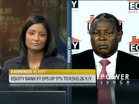 Equity Bank Annual Results with CEO James Mwangi