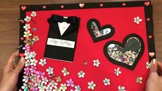 Birthday Scrapbook🎂 *New Crafts* MUST WATCH - Valentines Day