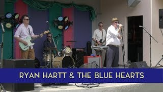 Ryan Hartt and the Blues Hearts perform at the Hygienic Art Park as...
