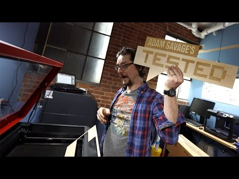 Show and Tell: Our New Shop Laser Cutter!