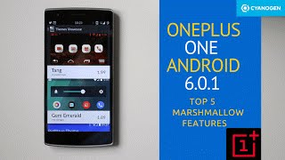 Cyanogenmod 13 – Android Marshmallow (6.0.1) for OnePlus One – OTA Update
