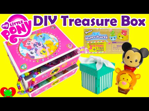 DIY Treasure Box My Little Pony Jewelry Box with Surprises