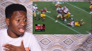 KIRK COUSINS AND CHRIS THOMPSON COMBO!! 49ers vs. Redskins   NFL Week 6 Game Highlights