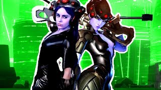 WIDOWMAKER PLAYING OVERWATCH?! [COSPLAY]