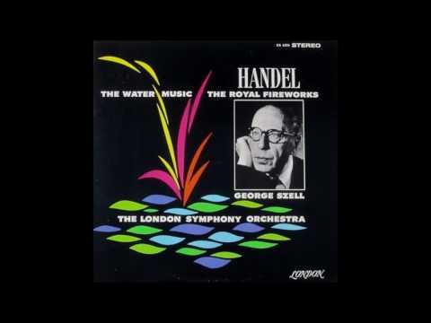Handel Water Music Ste. (arr. Harty - Szell). LSO, Szell. 1962