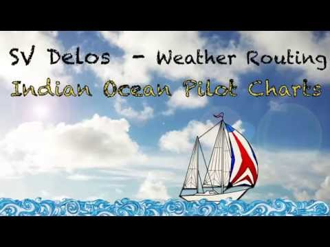 Weather Routing With Pilot Charts- SV Delos Sailing