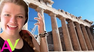 Exploring Greece Travel Vlog / Aud Vlogs
