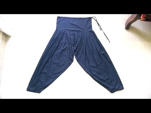Patiala pant cutting and stitching easy method   full video