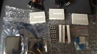 Запчасти для Arduino (Ардуино): датчики, шлейфы, дисплеи, тест-макет(Запчасти для Arduino (Ардуино): датчики, шлейфы, дисплеи, тест-макет. Покупал тут (доставка 20 дней): провода перем..., 2016-03-22T17:49:40.000Z)