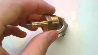 Обзор самодельного клапана на РСР пневматику / Review homemade pneumatic valve on PCP