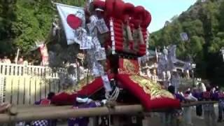 大月太鼓台 2011 山城町