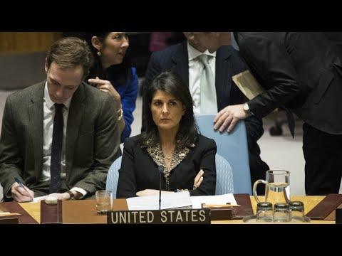 US Vetoes UN Resolution For Withdrawal Of Trump's Jerusalem Decision