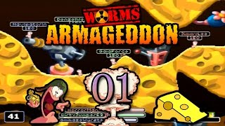 Let´s DirtyTalk Worms Armageddon Part 1 (Auf eis gelegte Projekte!) German | MrHorrorJumper