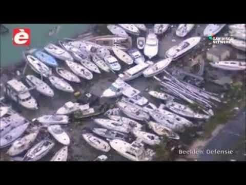 Esaki ta un video for di Helikopter di Defensie (Marine) ku ta ilustrando e dañonan na Sint Maarten