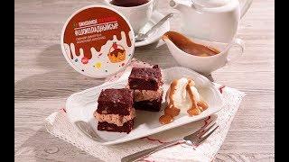 Брауни с шоколадной рикоттой