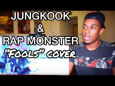 BTS | Fools cover by Rap Monster and Jung Kook REACTION (I'M SHOOK!!!)