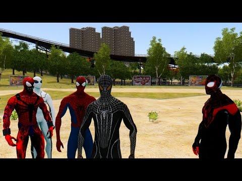 Spiderman Army Vs Thor