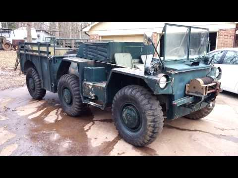 1970 CONDEC M561 Gama Goat walk around and startup