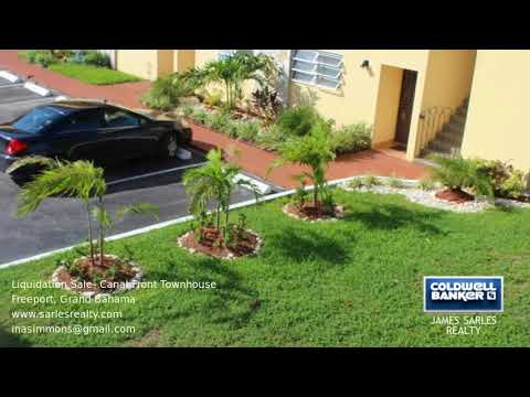 Bahamas Property - Liquidation Sale- Canal Front Townhouse