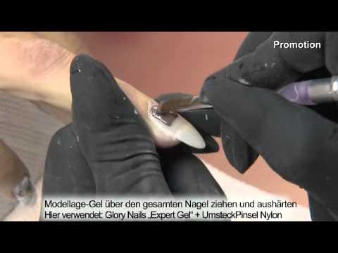 Nastavak 7. Glory Nails: Kompletno izlivanje nokta i prekrivanje gelom u boji - Beauty Forum