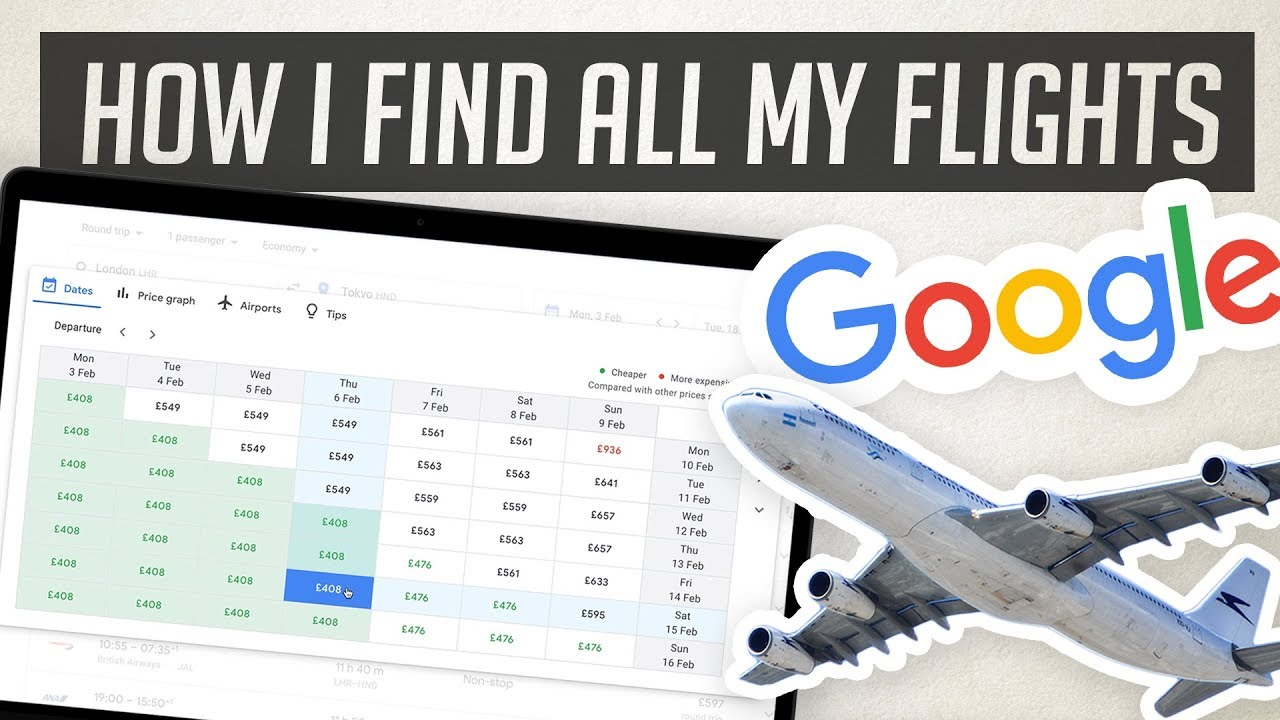 How To Use Google Flights To Find The Best Deals Youtube