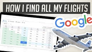 How to use Google Flights to find the best deals!