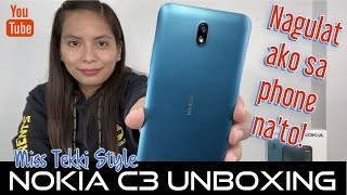 Nokia C2 Unboxing (Miss Tekki Style)