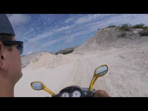 Grand Turk scooters offroad