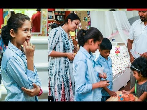 Jyothika Surya Daughter Diya Very Cute Video - Suriya Jyothika