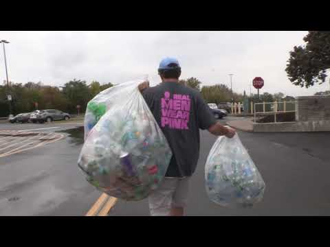 Tom & Becky - The Can Man Will Be Back This Year Collecting Bottles/Cans For Cancer!