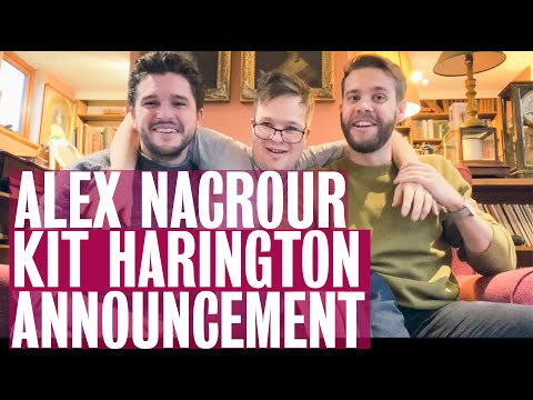 Alex Nacrour And Kit Harington (Game Of Thrones) Announce Marathon News!