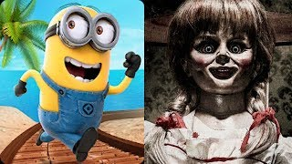 Despicable Me Minion Rush vs Emily Wants To Play Horror Game