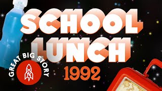 What Your School Lunch Might Have Looked Like in 1996