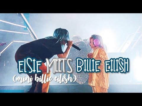 "ELSIE (AKA ""MINI BILLIE EILISH"") MEETS BILLIE EILISH - CONCERT VLOG"