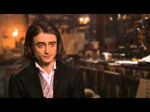 """Victor Frankenstein: Daniel Radcliffe """"Igor"""" Behind the Scenes Movie Interview"""
