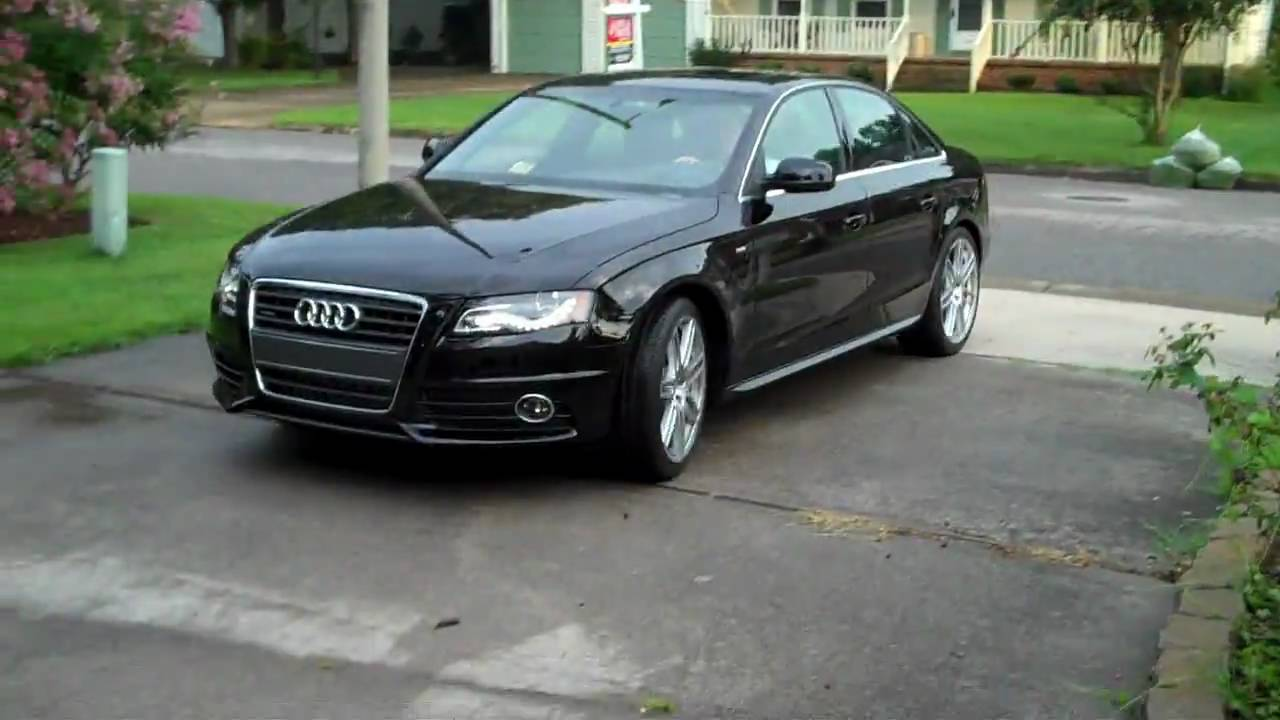 Bringing home 2010 audi a4 quattro 2 0t s line youtube for S line exterieurpaket a4