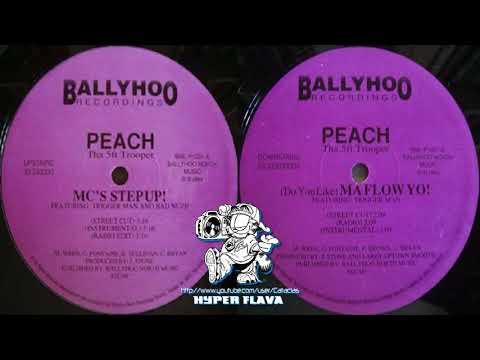 Peach Tha 5ft Trooper - Mc's Step Up! / (Do You Like) Ma Flow Yo! (Full VLS) (1994)